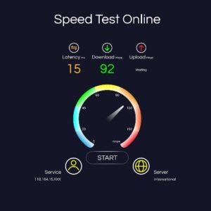 Speed test ptcl